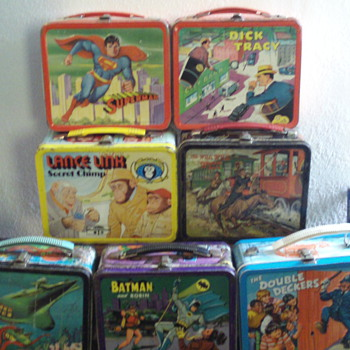 Part of my Lunchbox Collection - Kitchen