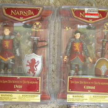 Narnia boxed action figures - Toys