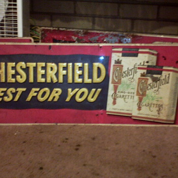 Chesterfield Sign's.. - Advertising