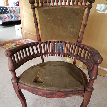 Any help with identifying this chair?  - Furniture