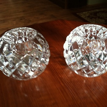 Royal Limited Crystal Candle Holders