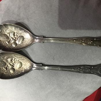 antique spoons - Silver