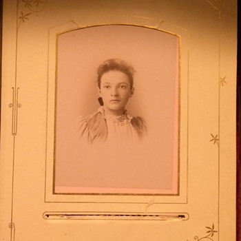 Part Two Of Antique Photo Album Patented 1882 - Photographs