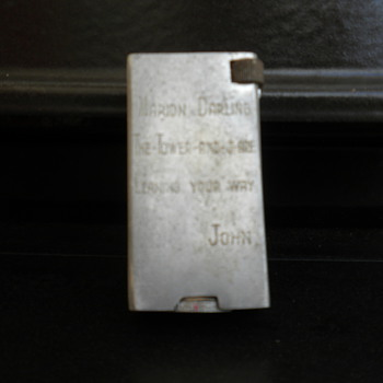 WW11 Cigarette Lighter - Tobacciana