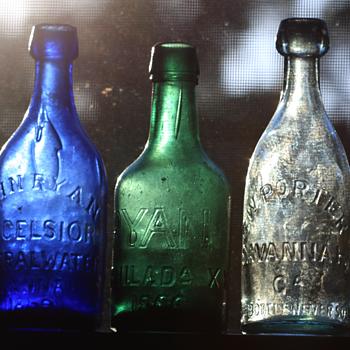 <----Savannah smooth base mineral waters----> - Bottles