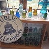 Antique Public Telephone Sign