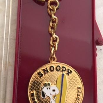 Peanuts (Snoopy) Key Chain - Worlds Greatest Surfer