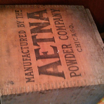 powder box - Advertising