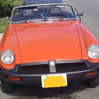 My Little Orange Baby - Classic Cars