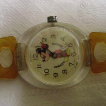 1970's ?? Bradley Mickey Mouse Watch - Wristwatches