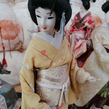 Geisha dolls  - Dolls