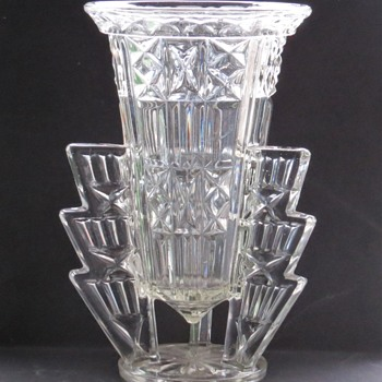 "Art Deco ""Rocket"" Vases - Art Deco"