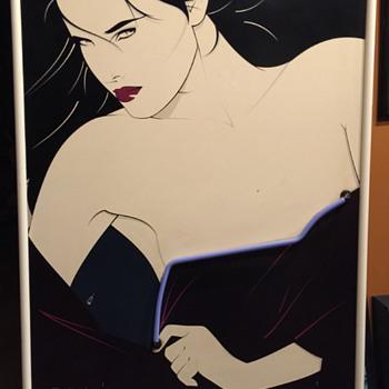 Rare Patrick Nagel Neon Playboy Portfolio II Poster - Posters and Prints