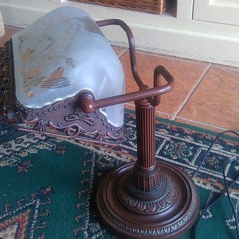 Help identifying a desk lamp - Lamps