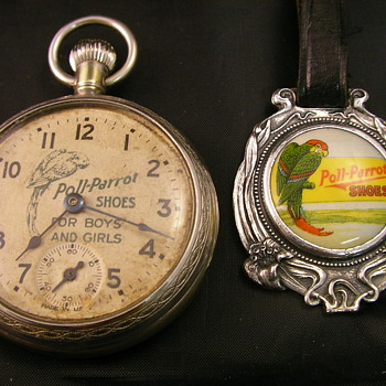 1927 Poll-Parrot Pocket Watch & F0b - Pocket Watches