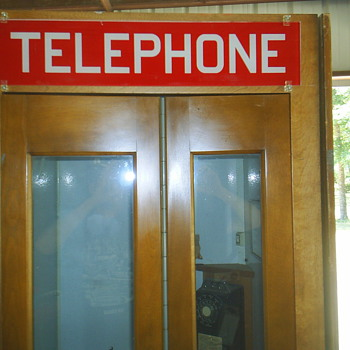Western Electric Phone Booth - Telephones