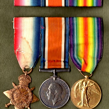 WWI Mounted Medals: Pip, Squeak and Wilfred - Military and Wartime