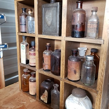 Vintage Pharmacy Items - Bottles
