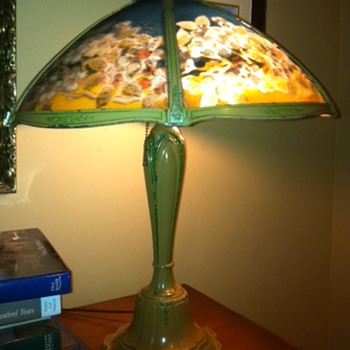 Old lamp from grandparents cottage