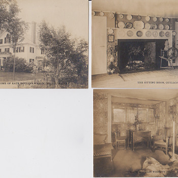 Kate Douglas Wiggins vintage postcards - Postcards