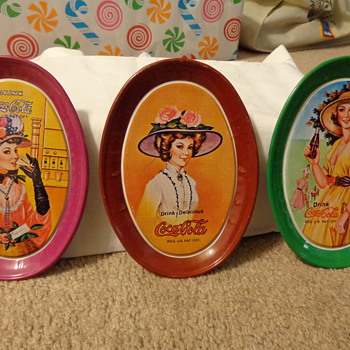 Mothers Tin trays - Coca-Cola