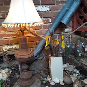 playing in my rust garden! - Lamps