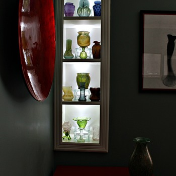 Glass displays - Art Glass