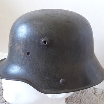 German WW1 M1916 Stahlhelm helmet - Military and Wartime