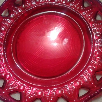My unsolved beautiful red glass
