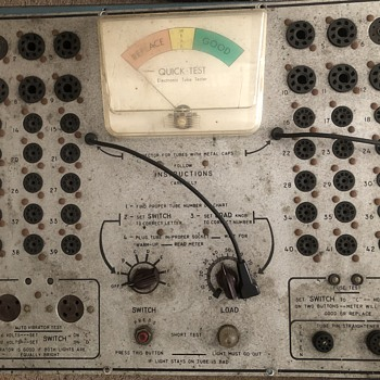 Tube tester but what brand? Model? - Electronics