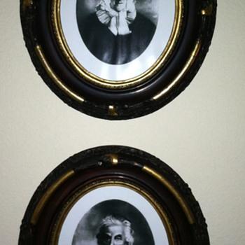 Victorian Gesso Frames - Photographs