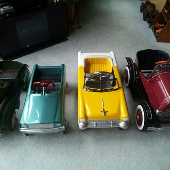My growing Pedal Car collection