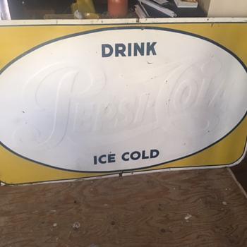 Pepsi Sign - Advertising