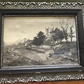 Painting or pen and ink William Henry Barrett Bennett ?