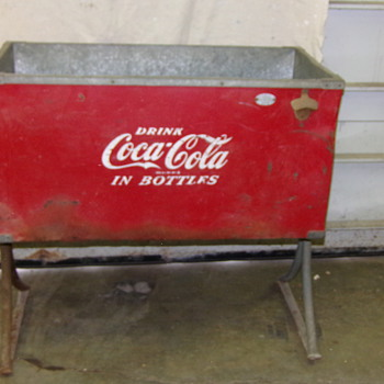 Found at a old campground - Coca-Cola