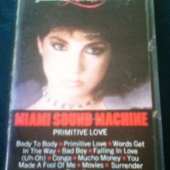 Miami Sound Machine Cassette Tape - Records