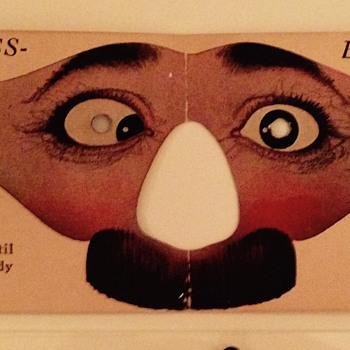 Vintage paper masks - Paper