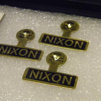 President Nixon Lapel Pins - Advertising