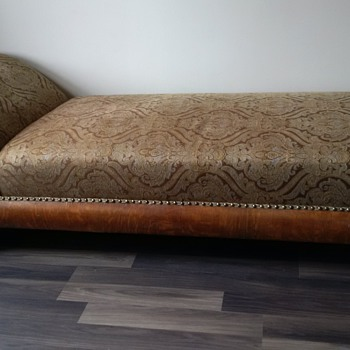 Newly re-done fainting couch - Furniture