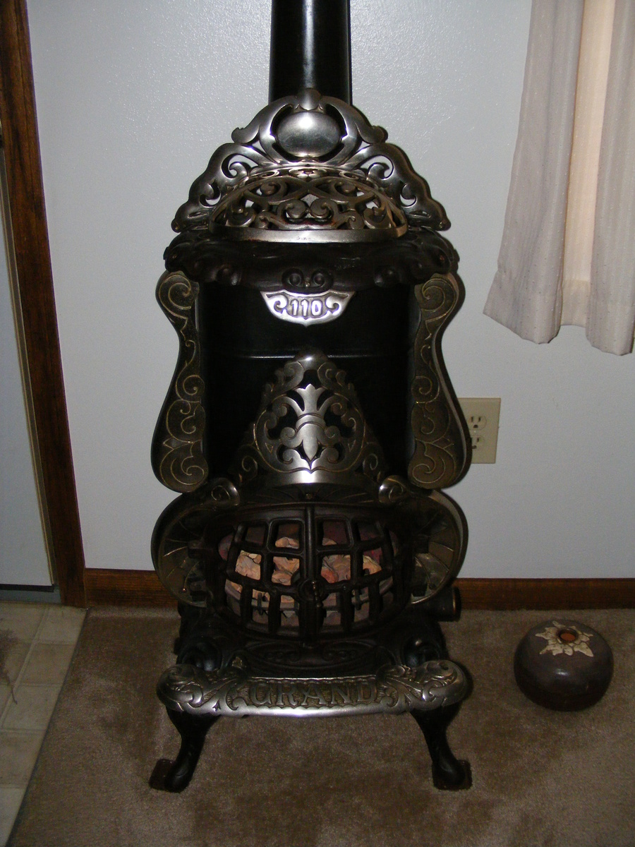 Grand Gas Parlor Stove Bathroom Heater Collectors Weekly
