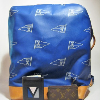 VINTAGE LOUIS VUITTON - FRANCE  AMERICA'S CUP  - Bags