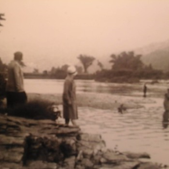 Salmon  Fishing  1935 - Photographs