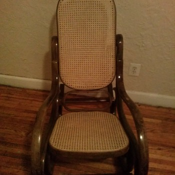 Bentwood Old Rocking Chair