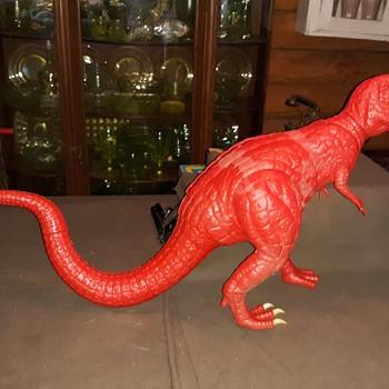 Aurora Prehistoric Scenes Tyrannosaurus Rex 1/13 Scale 1970s - Toys