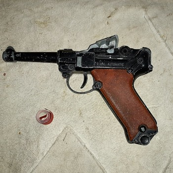 Lone Star Luger Cap Gun Mid to Late 1960s Made In England - Toys