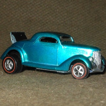 Hot Wheels Wednesday Hot Wheels Classic '36 Ford Coupe 1969 - Model Cars