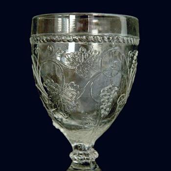 rare antique french 18th century press glass. Joseph Hinsinger circa 1750