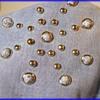 Vintage Blue Jean STUDDED Shirt ( about circa 1976 ) - Mine