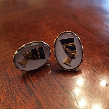 The most expensive cufflinks I've EVER gotten at the Swap Meet...