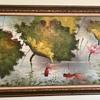 Goldfish painting - signed C. Yund?